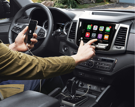 SsangYong Musso - Apple CarPlay