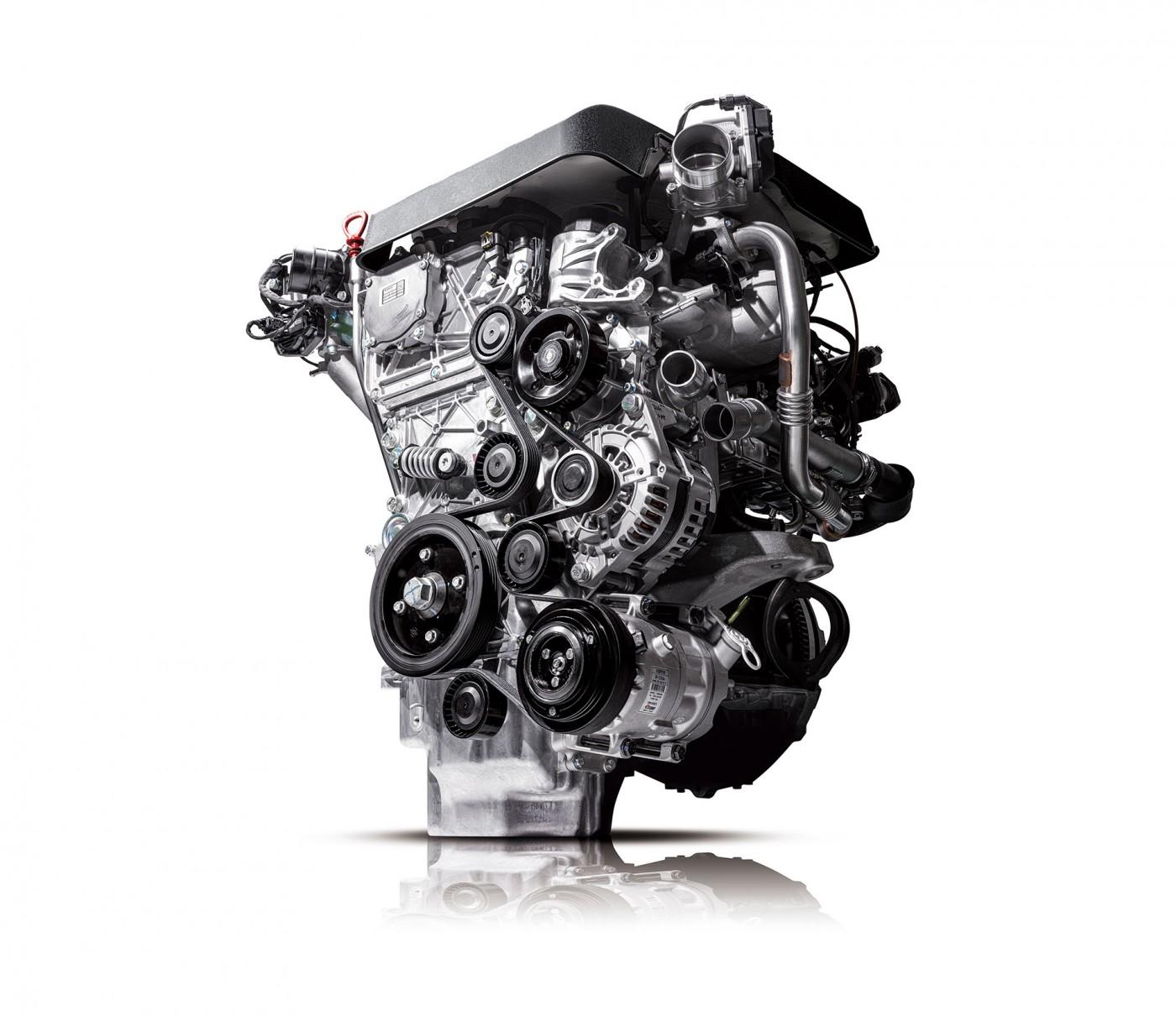 New Rexton Y450 2.2L diesel engine
