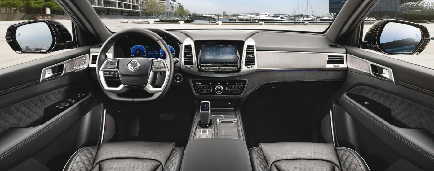 New Rexton Y450 Dash main