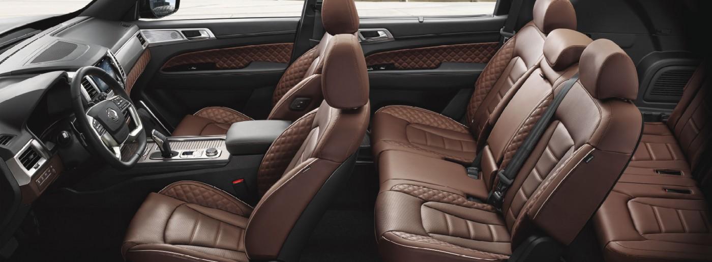 New Rexton Y450 Fullseat 7